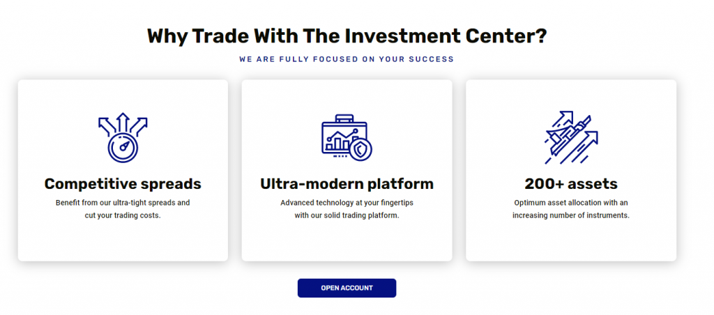 The Investment Center Broker Review 2021